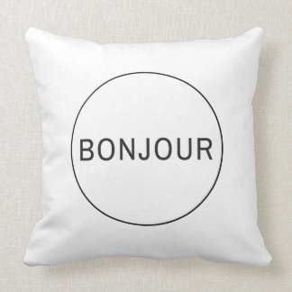 Bonjour Cushion