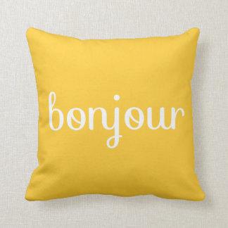 Bonjour! Cushion