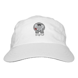 Bonjour Elephant Cartoon Hat