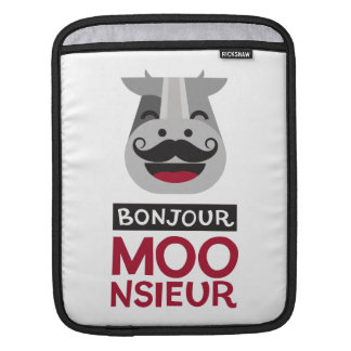 Bonjour Monsieur iPad Sleeve