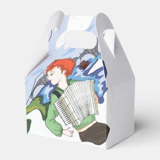 Bonjour Paris Drawing Favour Box
