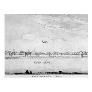 Bonn, c.1630-36 postcard