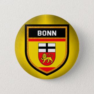 Bonn Flag 6 Cm Round Badge