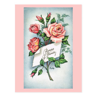 Bonne Annee, French New Year card