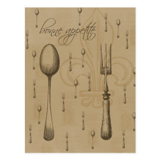 Bonne Appetite Postcard