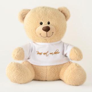 Bonne nuit ma cherie teddy bear