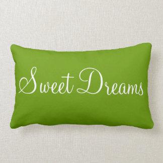 Bonne Nuit Sweet Dreams Decorative Bedroom Accent Lumbar Cushion