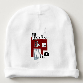 "Bonnet baby ""Born to Be wild "" Baby Beanie"