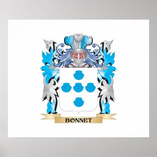 Bonnet Coat of Arms Posters