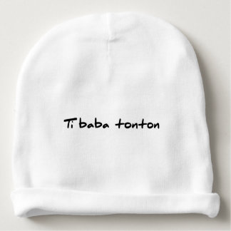 Bonnet Ti baba uncle Baby Beanie
