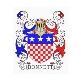Bonnett Coat of Arms (Irish) Canvas Prints