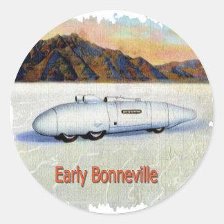 Bonneville Classic Round Sticker