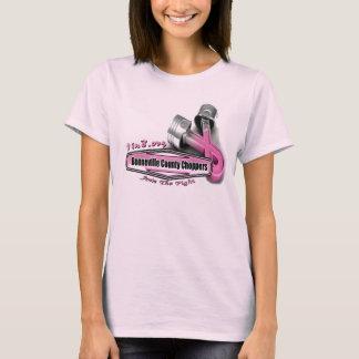 Bonneville County Chopper Breast Cancer Project T-Shirt