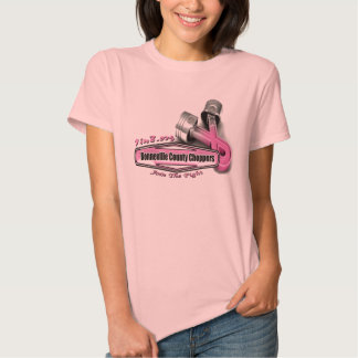 Bonneville County Chopper Breast Cancer Project Tee Shirt