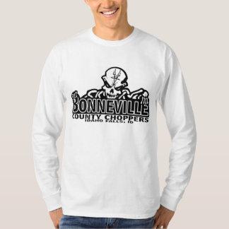 Bonneville County Choppers white long sleeve T-Shirt