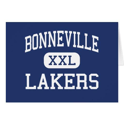 Bonneville - Lakers - High School - Ogden Utah Greeting Card