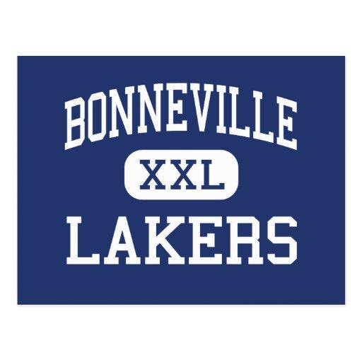 Bonneville - Lakers - High School - Ogden Utah Post Cards