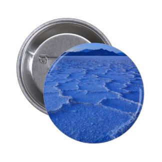 Bonneville Salt Flats Sunset - Utah 6 Cm Round Badge