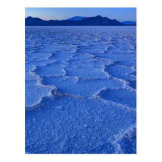 Bonneville Salt Flats Sunset - Utah Postcard