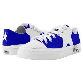 Bonnie Blue Flag Printed Shoes