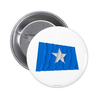 Bonnie Blue Flag / West Florida Republic Flag 6 Cm Round Badge