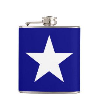 Bonnie Blue Flag with Lone White Star Flask