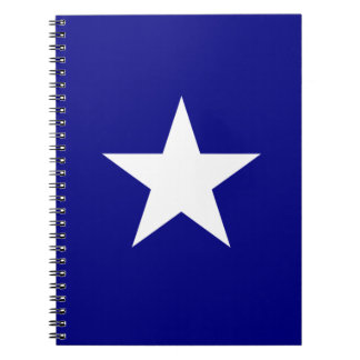 Bonnie Blue Flag with Lone White Star Notebook