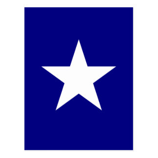 Bonnie Blue Flag with Lone White Star Postcard