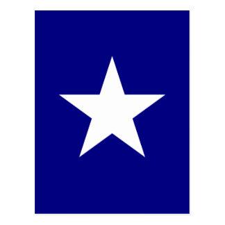 Bonnie Blue Flag with Lone White Star Postcard
