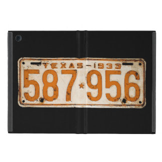 Bonnie & Clyde License Plate iPad Mini Cases