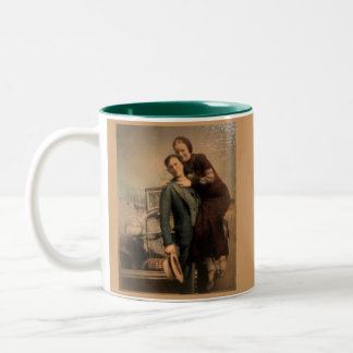 Bonnie & Clyde Two-Tone Coffee Mug