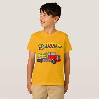Bonnie construction vehicle bonnet dump truck T-Shirt