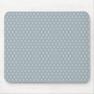 Bonnie Gentle Retro Four Point Stars Mouse Pad