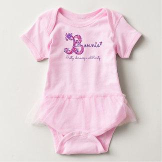 Bonnie girls name & meaning B monogram shirt