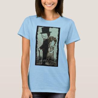 "Bonnie Parks--- Ladies baby doll medium black ""Mis T-Shirt"