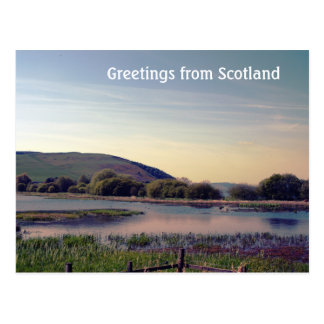 Bonnie Scotland -- Scottish Loch View Postcard