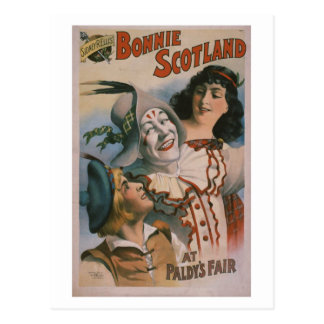 """Bonnie Scotland"" Vintage Theater Postcard"