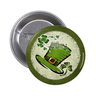 Bonnie St. Patricks Day FLARE Pinback Buttons