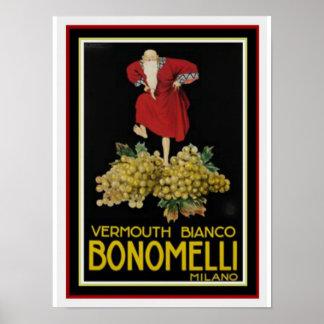 Bonomelli 12 x 16 Poster by Leonetto Cappiello