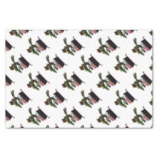 Bonsai Christmas Tree Tissue Paper