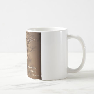 Bonsai & Confucius Kindness Quote Coffee Mug