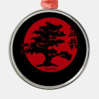 Bonsai Metal Ornament