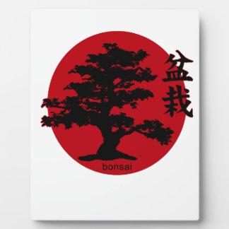 Bonsai Plaque