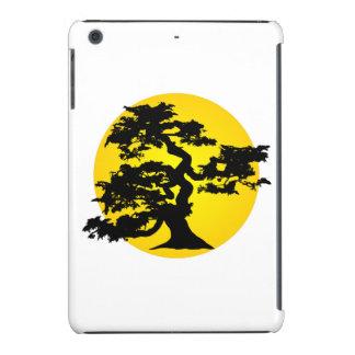 Bonsai Silhouette Sun iPad Mini Retina Case