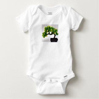 Bonsai tree baby onesie