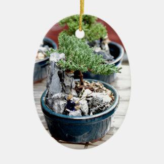 Bonsai Tree Ceramic Ornament