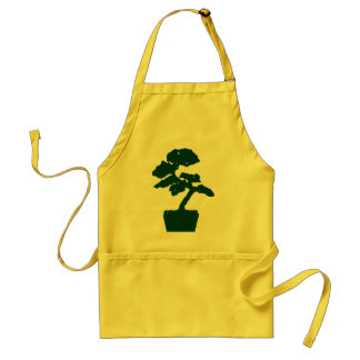 bonsai tree (green) standard apron