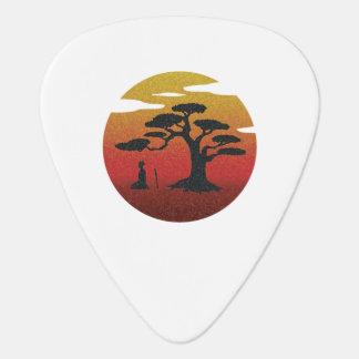 Bonsai Tree Guitar Pick