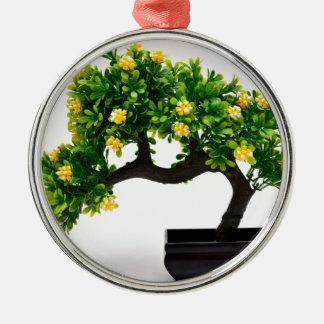 Bonsai tree metal ornament