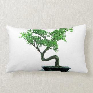 bonsai-tree Painting Lumbar Pillow